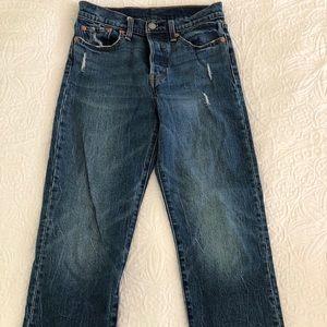 Levi's wedgie straight leg jean size 27